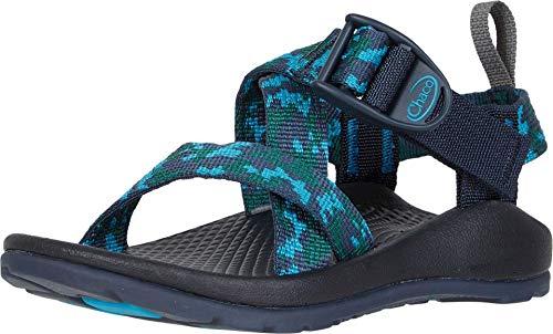 Chaco unisex child Z1 Ecotread Sandal, Anticamo Navy, 1M US