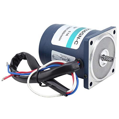 Ajuste de Velocidad + Caja de Cambios + Controlador de Velocidad Durable 100% Nuevo Motor de Engranajes de CA Motor de Engranajes 50/60 HZ XD2IK06GN-C para Moter(200)