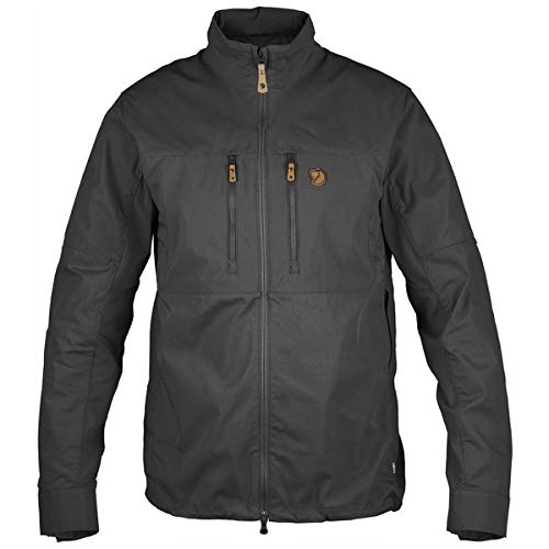 Fjällräven Herren Abisko Shade Jacket Softshelljacken, grau(Dark Grey), S