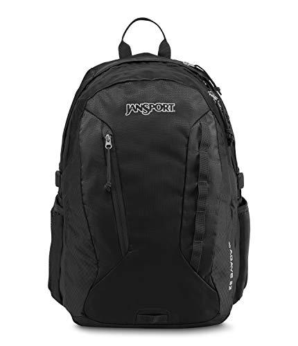 JanSport Rucksack Agave, Unisex-Erwachsene, Rucksack, Agave, schwarz, One Size