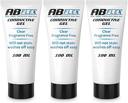 Best – 3x 100 ml-Gel Conducteur pour TENS, EMS ou ceinture AB Flex AB