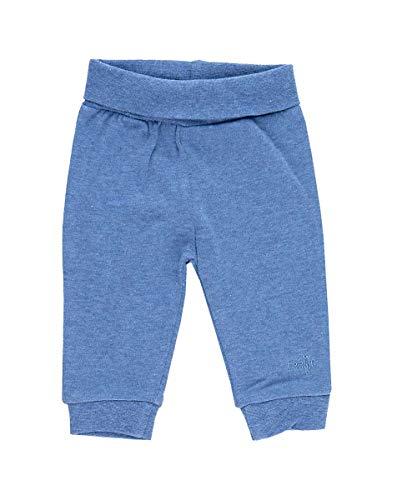 Feetje Baby Hose Basic Kuschelhose Jogginghose Freizeithose 6 Farben Gr. 50-74(Blau Melliert,62)