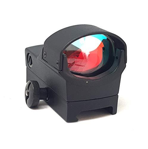 BIGNAMI Red DOT reddot da Caccia Softair olografico Hunting MIRINO per Fucile CARABINA Vista Scopo Punto Rosso per Fucile Pistola Regolabile