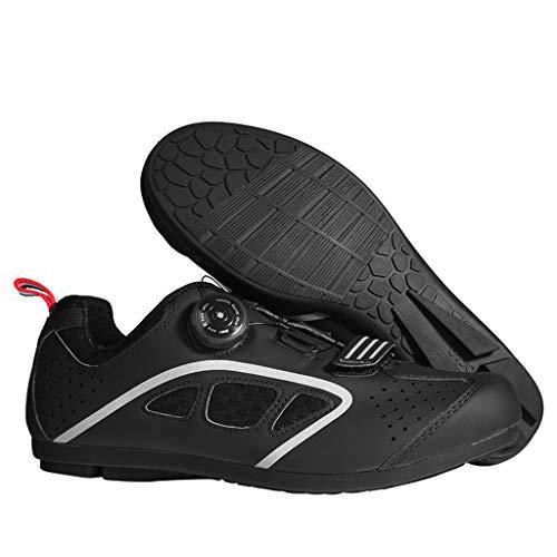 Calzado de Ciclismo hombre o mujer, Zapatillas bicicleta de carretera MTB sin...