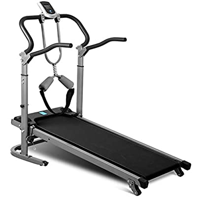 Treadmill Multifunctional Long and Widened Version of Shock-Absorbing Mechanical Suitable for All Ages Man and Women.