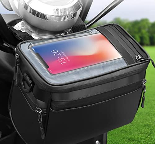 Bolsa Impermeable De Gran Capacidad, Bolsa De Soporte para Teléfono A Prueba De Golpes para Bicicleta, Accesorios para Bicicleta De Carretera con Pantalla Táctil, Apta para iPhone 12 13