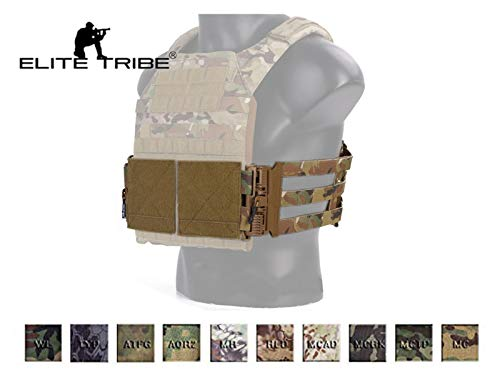 Elite Tribe Emerson Tactical Cummerbund Quick Release Mounting Strap for Vest JPC/419/420 (AOR1)
