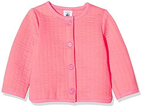 Petit Bateau Mädchen 5284202 Sweatshirt, Pink (Cupcake 175), 6-12 Monate (Herstellergröße: 12Monate)