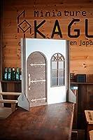 1/3スケールドールハウス簡単背景ドアと窓の部屋