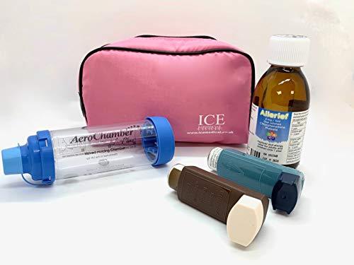 ICE Medical Inhaler Bag - Medium (Pink)
