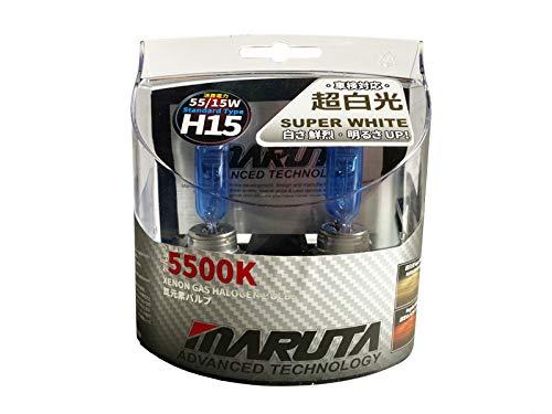 MTEC H1555/15 W Hochleistungs-Leuchtmittel, Sußerweiß, mit Xenon-Effekt, aus Echtglas