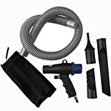 Ctzrzyt Kit Compresor 2 en 1 para Plumero de Aire Soplado de VacíO de Aire MultifuncióN Herramientas NeumáTicas de AspiracióN por AspiracióN