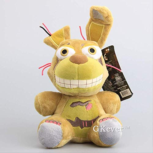Peluches - Fnaf/Five Nights At Freddy's/Mueca De Peluche Tan Springtrap De 18 Cm