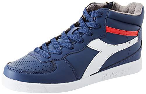 Diadora Playground H GS, Sneaker Unisex Bambini, Multicolore (Blu Estate/Bianco C5901), 39 EU