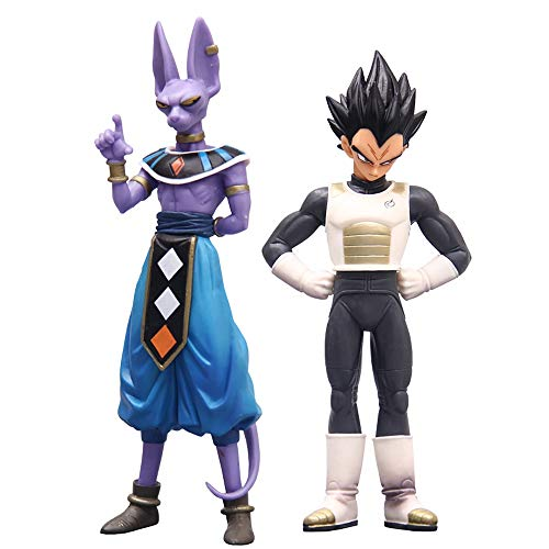 """Showkig Dragon Ball Z Battle of The Gods DXF 6"""" Beerus Figure Toy Figurine Ornaments Dragon Ball Super Animation Surrounding Static Model Chassis Decoration image"""