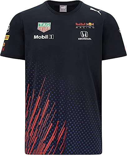 Red Bull Racing Official Teamline T Shirt, Uomini Small - Abbigliamento Ufficiale