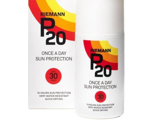 Riemann P20 Once-a-Day Sonnenschutz SPF 30 High 200ml