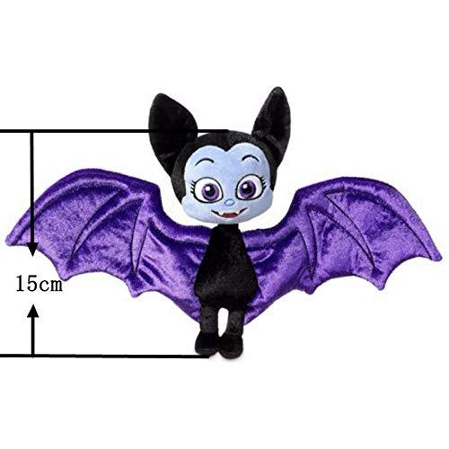 Rackies Movies & TV - 25cm Vampirina The Vamp Bat Girl and The Purple Dog Stuffed Animal Plush Doll Toy for Kids Girls 1 PCs