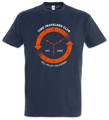 TIME Travelers Club T-Shirt - Back to The Future Shirt Zurück In Die Zukunft Größen S – 5XL