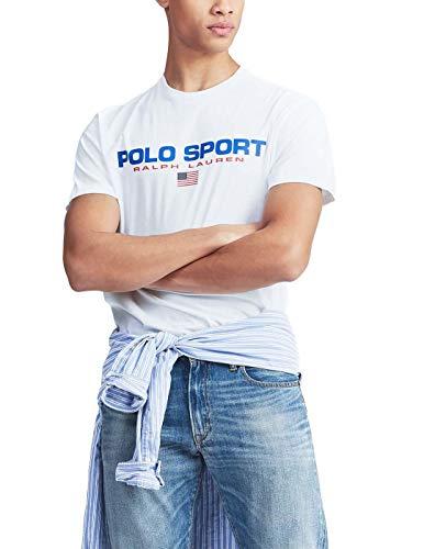 Camiseta Ralph Lauren Polo Sport Blanco Hombre L Blanco