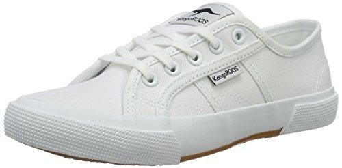 KangaROOS Damen Voyage Sneaker, Weiß (White), 37 EU
