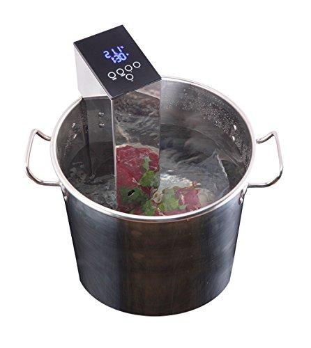 Maquina de coccion al vacio sv-cook garhe inox para cualquie