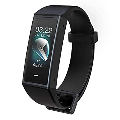Wyze Band Activity Tracker with Alexa Built-in | High-resolution Color Touchscreen, Heart Rate Monitor, Step Counter, Sleep Monitor, Phone and App Notifications, 5ATM Water-resistant