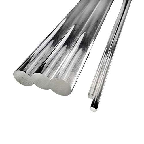 "30pcs 2mm Dia. 13"" Long Clear Acrylic Plexiglass Plastic Rod"