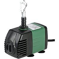 Decdeal Water Strider - 1500L/H 25W Bomba de Agua Sumergible con 2 Boquillas AC220-240V para Acuario Fuentes Jardín de Agua Sistema Hidropónico