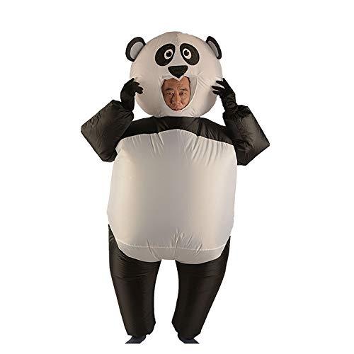 HUI JIN Aufblasbares Panda-Kostüm, Requisiten, Halloween-Zubehör für Erwachsene