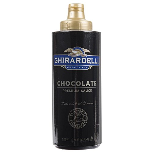 Ghirardelli Chocolate Chocolate Flavored Sauce Squeeze Bottle, 16 fl. oz.