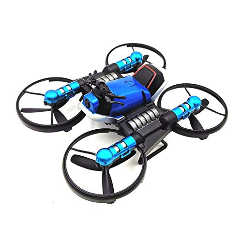 Harwls 2.4G Deformation Motorfiets Folding Quadcopter Drone Double Mode 2-in-1 Toy