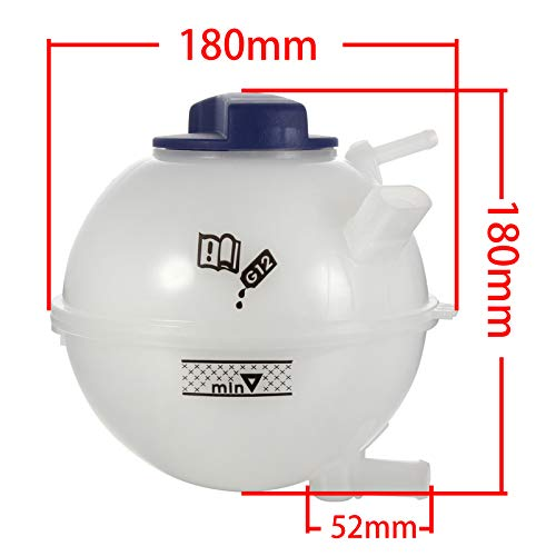 G Madlife Garage Compatible with Coolant Reservoir 1J0121407F With Cap 1J0121321B for Adi A3 TT Volkswagen Golf Jetta Beetle Clasico
