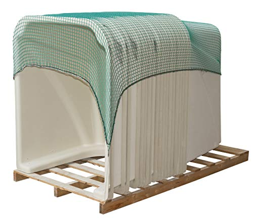 Kerbl Filet de Protection pour Élevage/Agriculture Urbaine 2,5 x 3,5 m 30 mm Mailles 1,8 mm