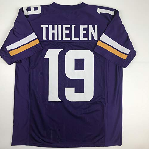 Unsigned Adam Thielen Minnesota Purple Custom Stitched Football Jersey Size Men's XL New No Brands/Logos