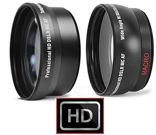 2PC Lens KIT HI DEF Wide Angle & 2X...