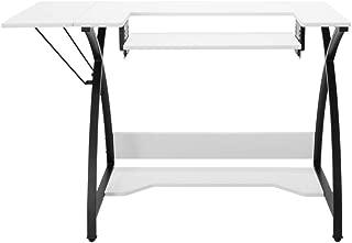 Offexホームオフィス、趣味Comet裁縫表–ブラック/ホワイト