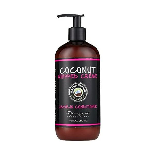 Beauty Shopping RENPURE Coconut Whipped Creme Leave-In Conditioner, Basic, Fragrance, 16 Fl Oz