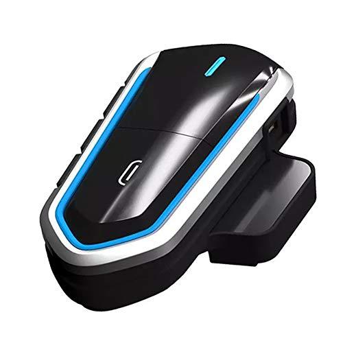 Hieefi Casco Bluetooth Auricular Moto Auricular Moto Auricular Impermeable FM Radio inalámbrico 2.4GHZ Casco Auriculares Manos Libre Llamada