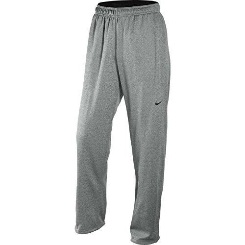 Nike 379431 Knockout Polyester Fleece Pant - Dark Grey Heather