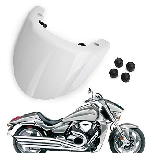 Areyourshop ABS Rear Seat Cover Cowl for Boulevard M109R 2006-2013 White
