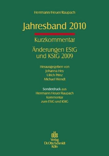 Jahresband 2010: Herrmann/Heuer/Raupach