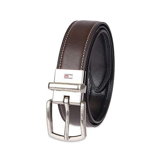 Tommy Hilfiger 12TL01XZ04-Cintura Bambino    Logo marrone/nero. Small