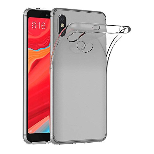 Capa para Xiaomi Mi Redmi S2 / Redmi Y2 (5,99 polegadas) MaiJin Capa Traseira Transparente de Gel de Borracha TPU Macio