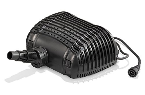 Solar Ersatzpumpe Waterfall 12-18V DC max. 2500 l/h Förderleistung Bachlauf Teichpumpe Gartenteich 101980