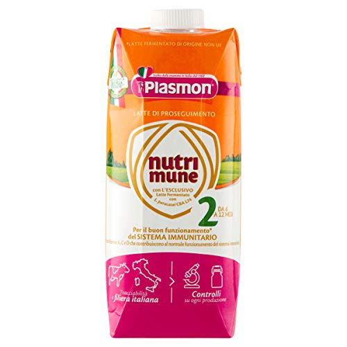Plasmon Nutri-Mune Latte 2 Proseguimento Liquido 500ml