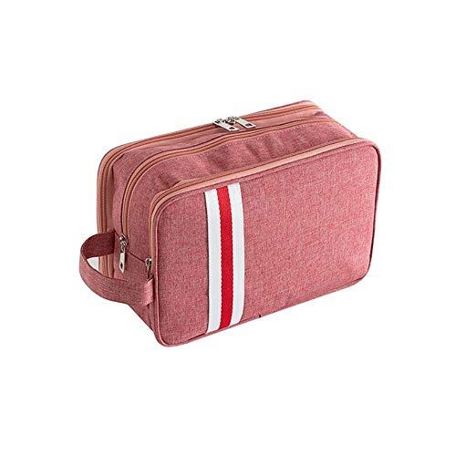 QRIC Neceser bolsa de cosméticos separación húmeda y seca de hombres y mujeres de múltiples funciones paquete de admisión bolsa de cosméticos portátil de viaje de la aptitud de viaje de gran capacidad