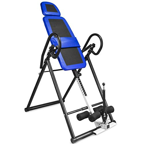 Buy Bargain AVGDeals Inversion Table Pro Deluxe Fitness Chiropractic Table Exercise Back Reflexology...