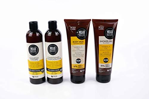 Hello Nature Marula Hair & Body Treatment Pack