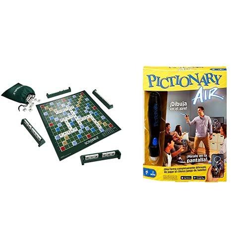 Mattel Games Scrabble Original, Juego de Mesa para Adultos y para niños...
